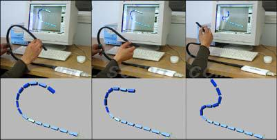 Measurand ShapeAnimator: integrated system of ShapeTape and software plug-in.